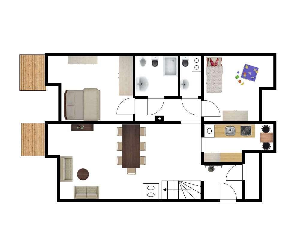 3-Zimmer Dachgeschosswohnung ab 01.11.19, 1.300 €, 99 m², von privat  in Fürstenfeldbruck (Fürstenfeldbruck)