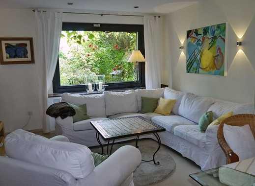 INTERLODGE Modern möblierte  Wohnung, gute Ausstattung, mit Terrasse und Garten in Essen-Heisingen
