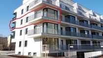 Bild Grünau helle 3 Zimmer +große Küche, Balkon, FBH, Wanne+Dusche, Erstbezug, kleiner Wasserblick