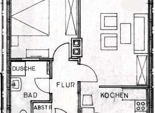 Sanierte Wohnung, 2 Zi./Kü./Bad und EBK in Bad Hersfeld