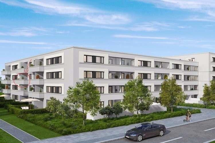 Neue, helle 2 Zimmer Wohnung mit Westbalkon in Bogenhausen (München)