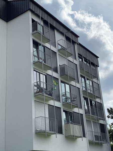 Gepflegte 1-Zimmer-Wohnung mit kleinem Balkon in Unterschleißheim in Unterschleißheim