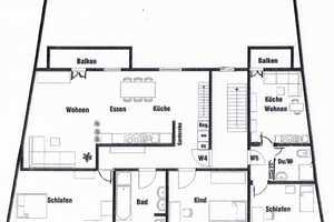 6 Zimmer Wohnung in Neuburg-Schrobenhausen (Kreis)