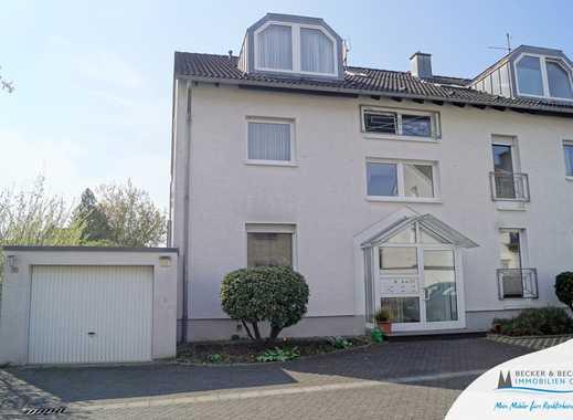 Für Garten-Liebhaber! 4-Zimmer-Erdgeschoss-Maisonette-Wohnung mit Einbauküche und Garage!