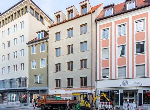 Erstbezug: 2-Zimmer-Neubauwohnung im Ingolstädter Zentrum mit Balkon
