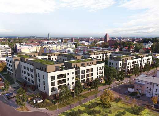 Umfangreich und exklusiv ausgestattete 3-Zimmer-Wohnung mit Loggia nördlich der Nürnberger Altstadt