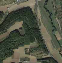 Waldfläche und Landwirtschaftsfläche in Hardheim
