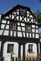 Kulturdenkmal gut erhaltener Fachwerkhof mit