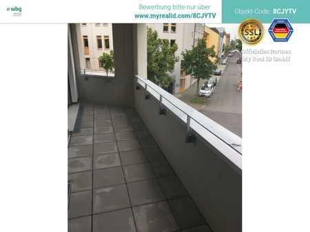 Extravagant geschnittene Neubauwohnung mit großer Loggia! in Hummelstein (Nürnberg)