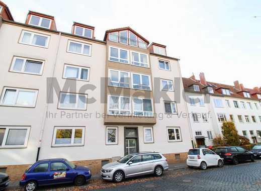 Toplage von Hannover! 3-Zi-Whg mit Balkon als Kapitalanlage oder zur Eigennutzung