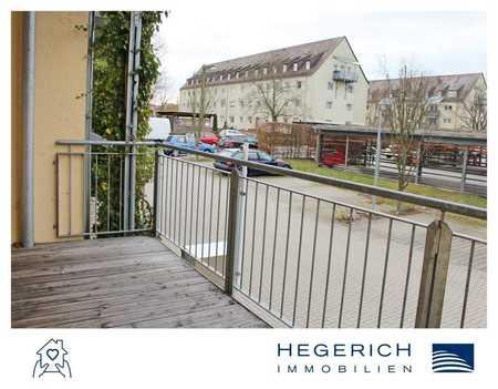 HEGERICH: Helle und gemütliche 2-Zimmer-Wohnung mit Balkon! Beim Fürther Südstadtpark!  in Südstadt (Fürth)