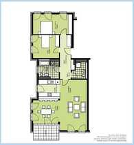 Bild Gemütliche und geräumige Wohnung in attraktiver Westend-Lage!!!