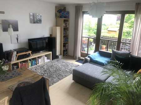 Gepflegte 3-Zimmer--Maisonette-Wohnung mit Balkon und Einbauküche in Perlach, München in Perlach (München)