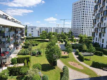 Schicke 3,5 Maisonette-Wohnung mit zwei Balkonen und Einbauküche in Obersendling (München)