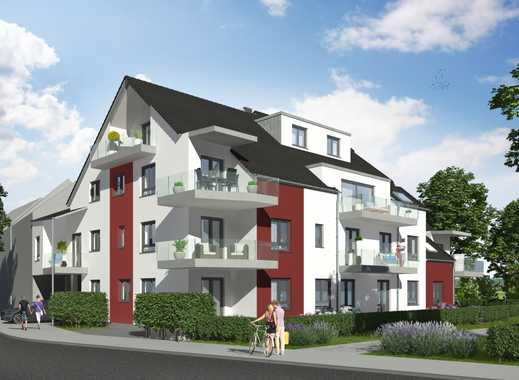 Neubau in Richrath, 3 Zimmer Erdgeschoss mit Eckterrasse