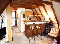 Wohnzimmer mit Wohnküche