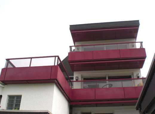 Helle 3-Zi-Wohnung m.Sonnen-Balkon+gr.Garage in bester Aussichtlage v.Bendorf ! Max 2 Personen!