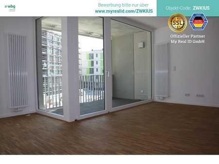 Letzte Chance! Lichtdurflutete Wohnung mit bodentiefen Fenstern und Parkettboden im Neubau-Erstbezug in Hummelstein (Nürnberg)