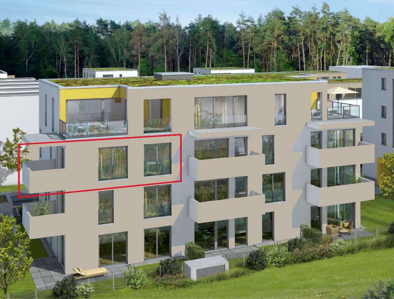 Tolle Lage am Langwassersee/Nähe Dutzendteich, lichtdurchflutete 3 Zimmer-Neubauwohnung in Langwasser Nordost (Nürnberg)