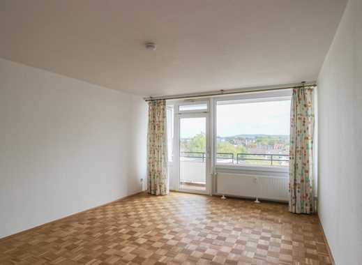 REUTER IMMOBILIEN Helles, renoviertes Appartement mit Balkon und Panoramablick ins Siebengebirge