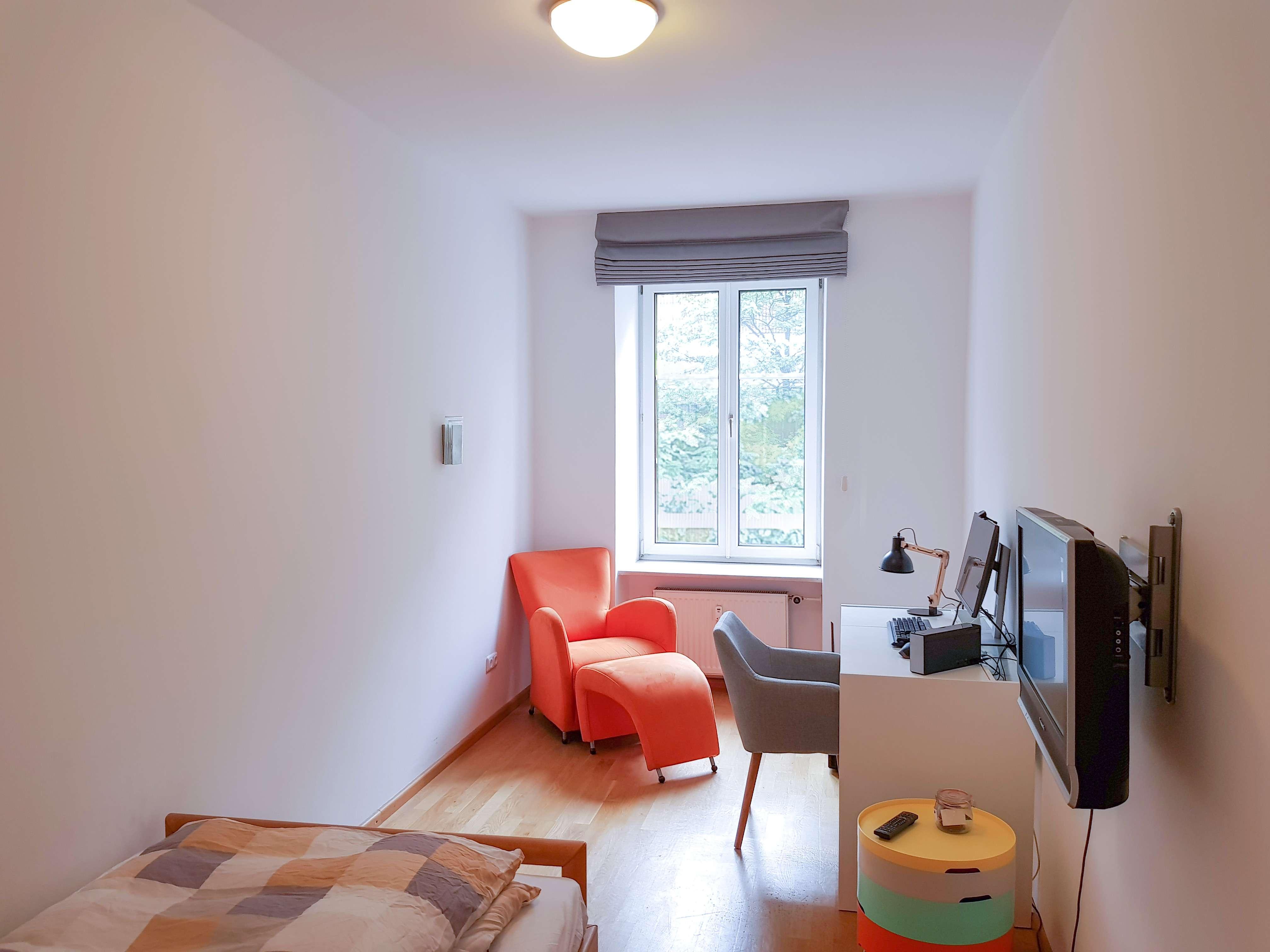 Stilvolle 1-Zimmer-Wohnung mit EBK in Maxvorstadt, München in Maxvorstadt (München)