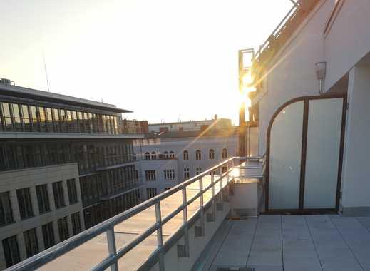 Neubau-Erstbezug - Super-Blick 2-Zimmerwohnung DG mit großer Terrasse