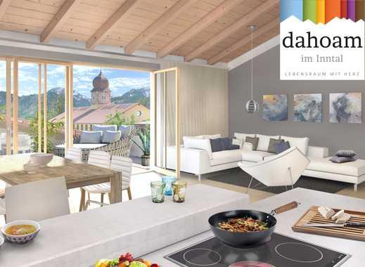 NEUBAU Luxus-Wohnung in der obersten Etage mit Dachterrasse u. Balkon zu MIETEN !!