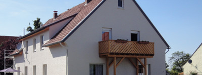 Dachgeschosswohnung mit Balkon und Gartennutzung in einem 4-Parteienhaus