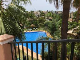 Blick zum Pool-Area