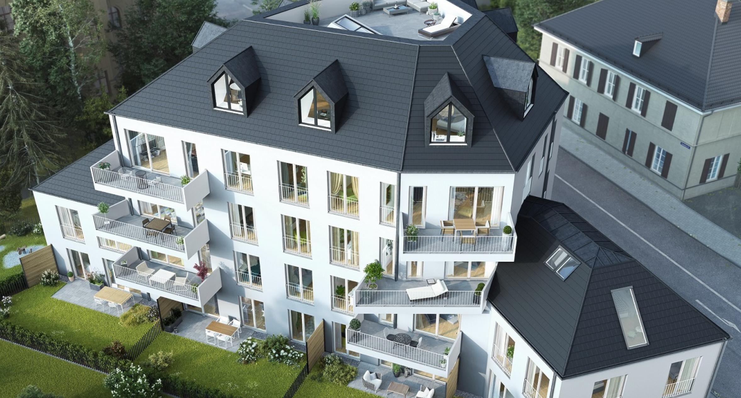 Erstbezug: exklusive 3-Zimmer-Wohnung mit EBK und Balkon in Wolfratshausen in
