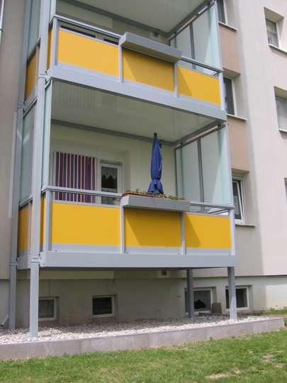 2-Raumwohnung mit tollem neuen Balkon im 2. OG in Kitzscher