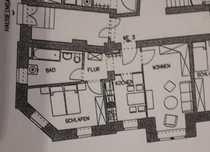 Günstige vollständig renovierte 2-Zimmer-Erdgeschosswohnung in