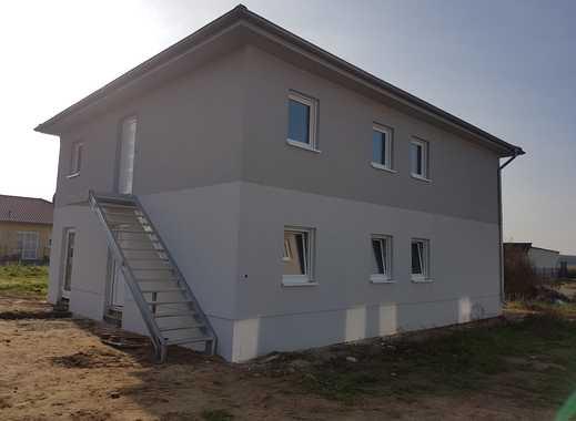 """""""schicke 3 Raum-Wohnung als Erstbezug in einer Stadtvilla """" inkl. Grundstück und Carport"""
