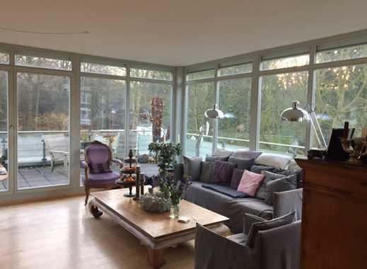 Exklusive und geräumige Penthouse-Wohnung in Winterhude, Hamburg