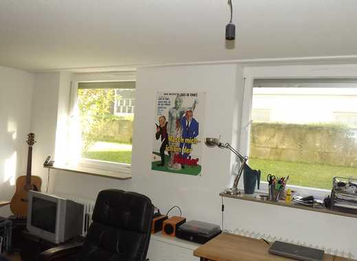 Helle 1-Zimmer Wohnung im Souterrain in Stuttgart-Plieningen