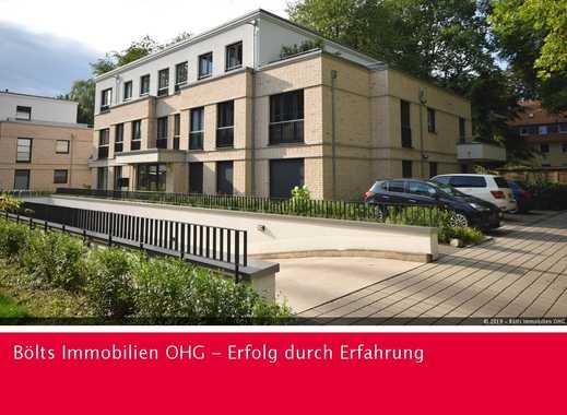 Neuwertige 3-Zimmer-Erdgeschoss-Wohnung mit großer Terrasse in Bremen St.Magnus