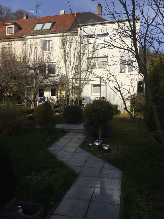 Garten Bild 3 und Rückansicht