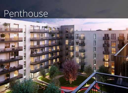 Durchdachtes Wohlfühlwohnen im 2-Zimmer-Penthouse mit 2 Balkonen und toller Aussicht