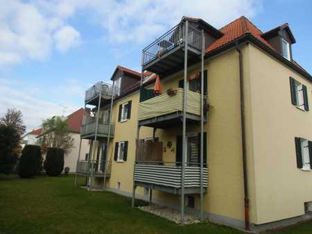 Sanierte 2-Raum-Hochparterre-Wohnung mit Balkon in Augsburg (Kreis) in Untermeitingen