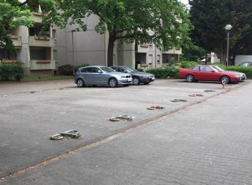 Abstellplatz in Griesheim, Nähe S-Bahnhof
