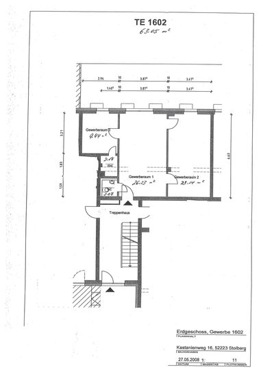 Grundriss 1602