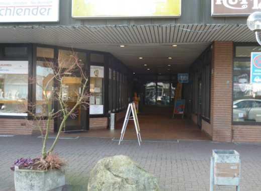 Ladenfläche im Einkaufszentrum von Neu Wulmstorf