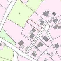 Baugrundstück im Dorfkern von Trelde