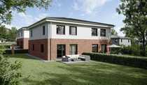 Doppelhaushälfte als Niedrigenergiehaus KfW 55