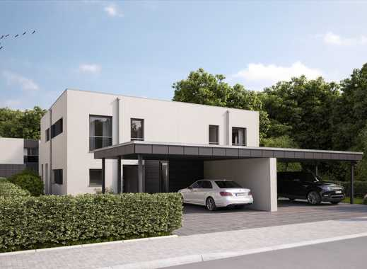Modernes Doppelhaus im exklusiven Villenpark - Baubeginn erfolgt!