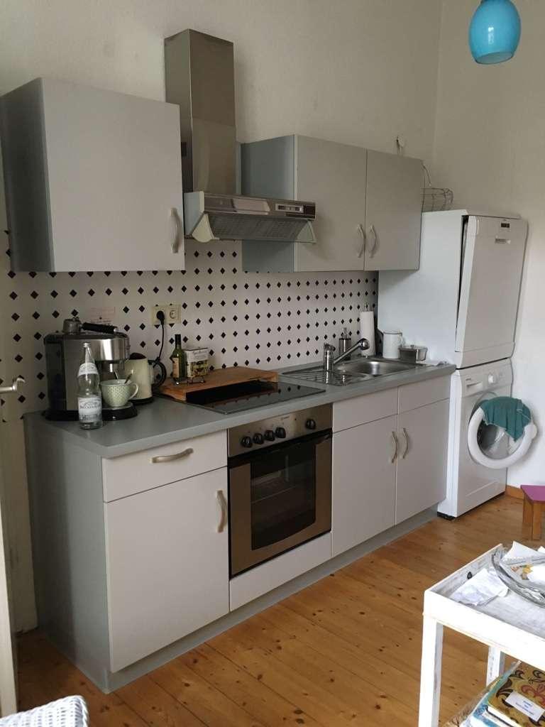 Wohnen direkt am Kurgarten: 3-Zimmer-Altbauwohnung in Bad Kissingen