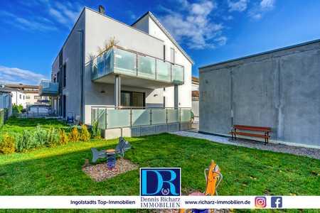 3-Zi-Neubauwohnung im Erdgeschoss mit großer Terrasse inkl. hochwertiger EBK in Etting