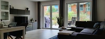 Neuwertige 2-Zimmer-Wohnung mit großzügiger Terrasse im Herzen von Lübbecke
