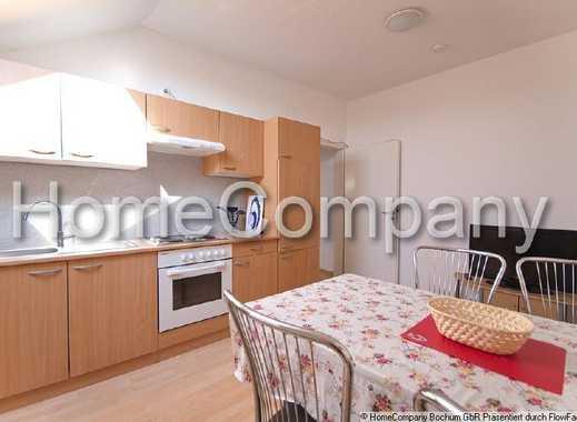 Große und komplett ausgestattete Wohnung in Herten, geeignet für bis zu drei Personen.
