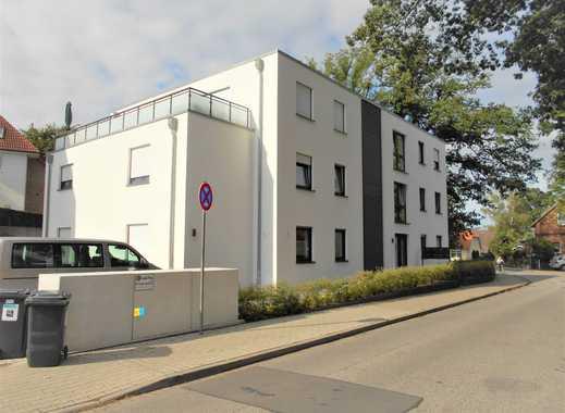 NEUBAU-Stadtvilla (2017) Hegebergstraße: Großzügige 3-Zimmer-EG-Wohnung mit Terrasse und Garten